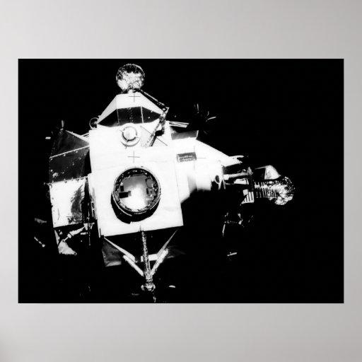 Apollo 13 Lunar Module Aquarius Poster
