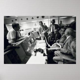 Apollo 13 Mission Control Center Print