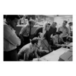Apollo 13 Mission Operations Control Room Poster