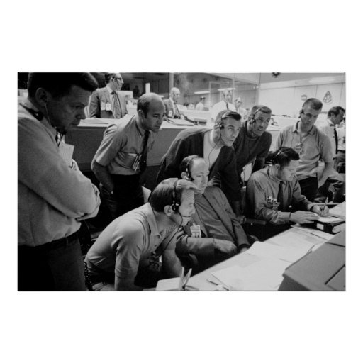 Apollo 13 Mission Operations Control Room Posters