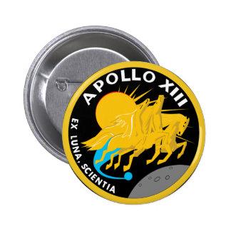 Apollo 13 Mission Patch Pin