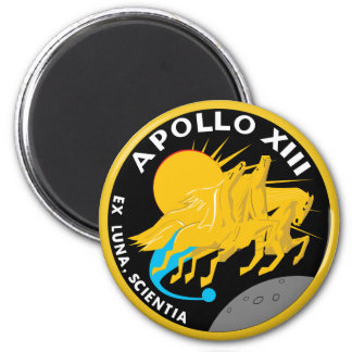 Apollo 13 Mission Patch Refrigerator Magnet