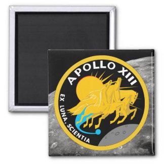 Apollo 13 Mission Patch Fridge Magnets