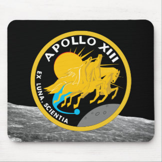 Apollo 13 NASA Mission Patch Logo Mouse Pad