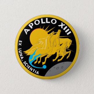 Apollo 13 NASA Mission Patch Logo Pinback Button