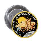 Apollo 13 pinback buttons