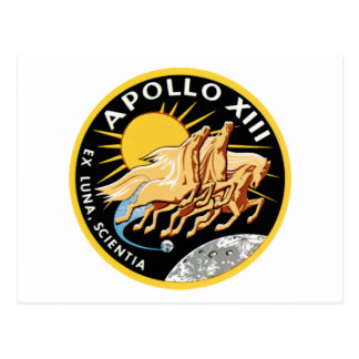 Apollo 13 postcard
