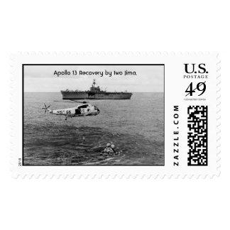 Apollo 13 Recovery at sea. Postage