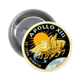 Apollo 13: Survival 2 Inch Round Button