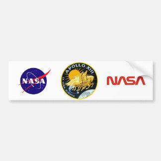 Apollo 13: Survival Bumper Sticker
