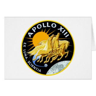 Apollo 13: Survival Card