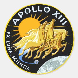 Apollo 13: Survival Classic Round Sticker