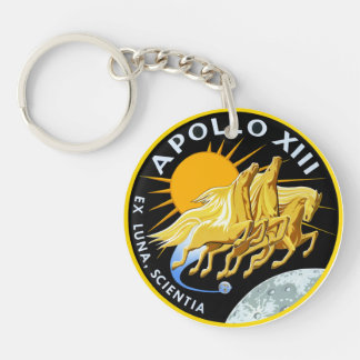 Apollo 13:  Survival Double-Sided Round Acrylic Keychain