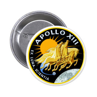 Apollo 13: Survival Pinback Button