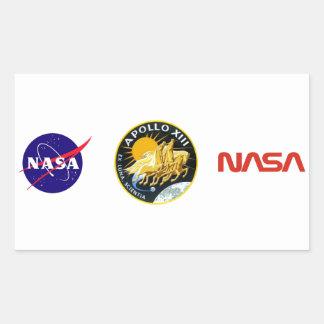 Apollo 13: Survival Rectangular Sticker