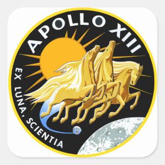 Apollo 13: Survival Square Sticker
