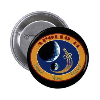 Apollo 14 Mission Patch Button