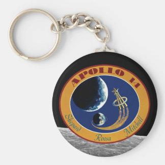 Apollo 14 NASA Mission Patch Logo Keychain