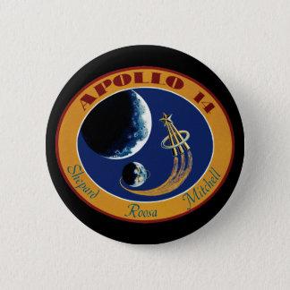 Apollo 14 NASA Mission Patch Logo Pinback Button