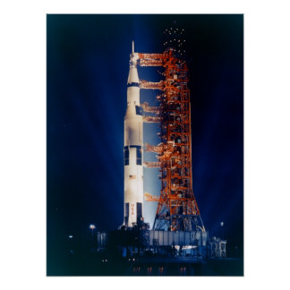 Apollo 14 on the Launch Pad Poster