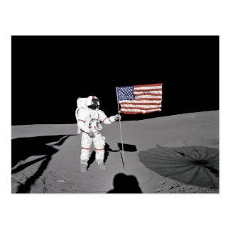 Apollo 14 postcard