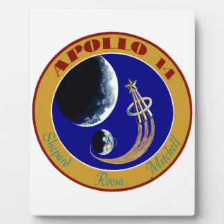 Apollo 14:  We Golf The Moon Plaque