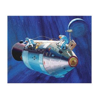Apollo 15 Command Module Canvas Print