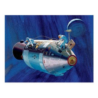 Apollo 15 Command Module Postcard