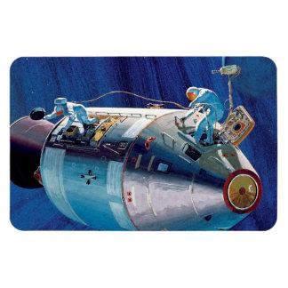 Apollo 15 Command Module Rectangle Magnet