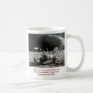 Apollo 15 Lunar Rover - Moon Colony 2022 Coffee Mug