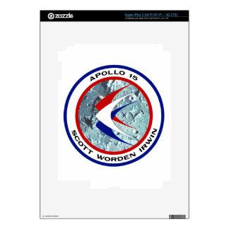Apollo 15: Lunar Sightseeing iPad 3 Decals