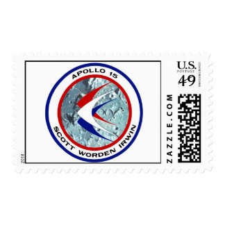 Apollo 15: Lunar Sightseeing Stamps