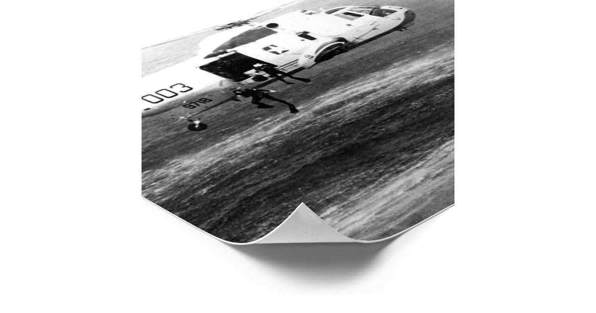 Apollo 15 Splashdown & Recovery Poster | Zazzle