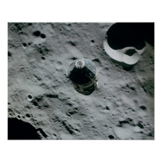 Apollo 16 Command and Service Modules Poster