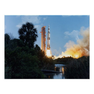 Apollo 16 Launch Print