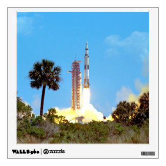 Apollo 16 Launch Wall Decal