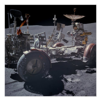 Apollo 16 Lunar Roving Vehicle Posters