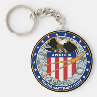 Apollo 16 Mission Patch Keychains