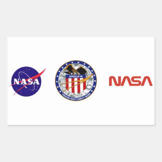 Apollo 16:  The Penultimate Flight Rectangular Sticker
