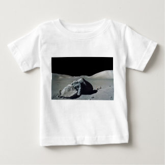 Apollo 17 Astronaut and Vehicle on the Moon Baby T-Shirt