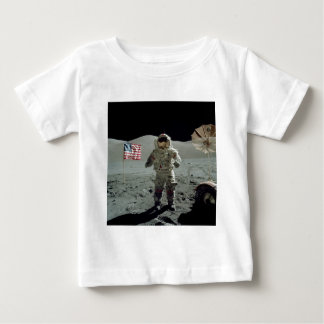 Apollo 17 Astronaut in the Taurus Littrow Valley Baby T-Shirt