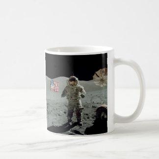 Apollo 17 Astronaut in the Taurus Littrow Valley Coffee Mug