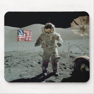 Apollo 17 Astronaut in the Taurus Littrow Valley Mouse Pad