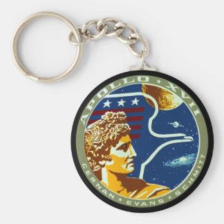 Apollo 17 key chains