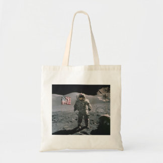 Apollo 17 Last Man on the Moon Budget Tote