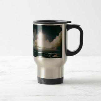 Apollo 17 Lift Off 15 Oz Stainless Steel Travel Mug