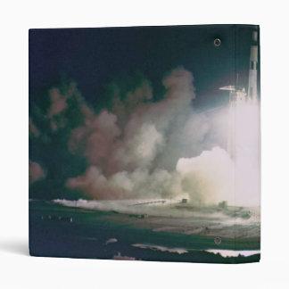 Apollo 17 Lift Off 3 Ring Binder