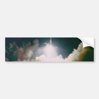 Apollo 17 Lift Off Car Bumper Sticker