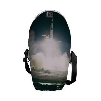 Apollo 17 Lift Off Courier Bags