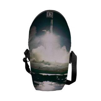 Apollo 17 Lift Off Messenger Bag